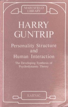Personality Structure and Human Interaction