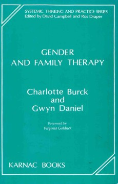 Gender and Family Therapy