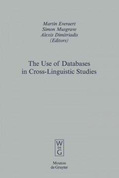 The Use of Databases in Cross-linguistic Studies