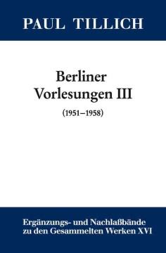 Berliner Vorlesungen