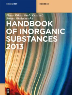 Handbook of Inorganic Substances 2013