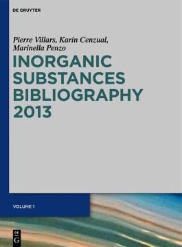 Inorganic Substances Bibliography 2013