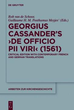 Georgius Cassander's De Officio Pii Viri (1561)