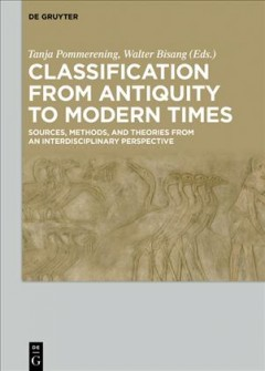 Classification From Antiquity to Modern Times