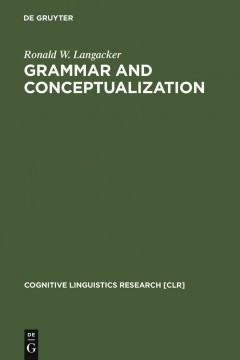 Grammar and Conceptualization