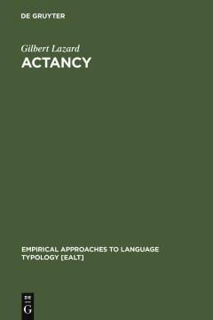 Actancy