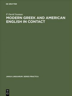 Modern Greek and American English in Contact