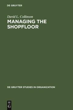 Managing the Shopfloor