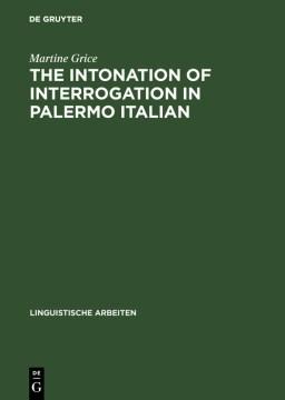 The Intonation of Interrogation in Palermo Italian