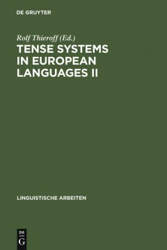 Tense Systems in European Languages