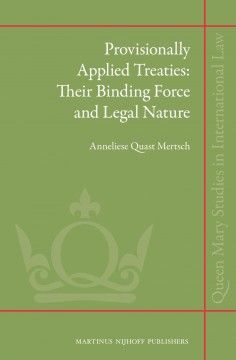 Provisionally Applied Treaties