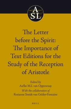 The Letter Before the Spirit