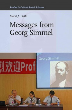 Messages From Georg Simmel