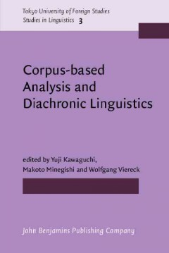 Corpus-based Analysis and Diachronic Linguistics