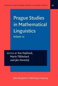 Prague Studies in Mathematical Linguistics