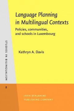 Language Planning in Multilingual Contexts