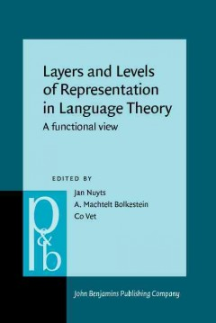 Layers and Levels of Representation in Language Theory