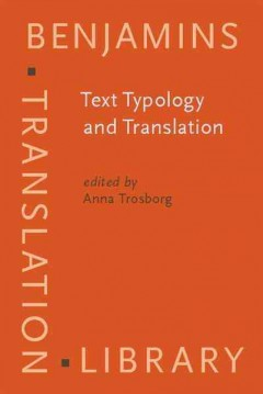 Text Typology and Translation