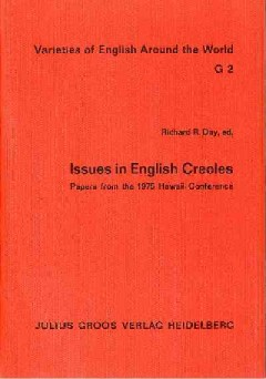 Issues in English Creoles