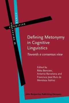 Defining Metonymy in Cognitive Linguistics