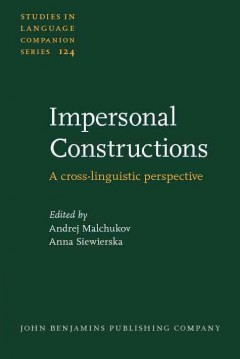 Impersonal Constructions