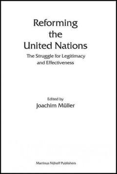 Reforming the United Nations