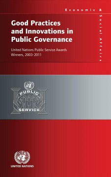 Good Practices and Innovations in Public Governance