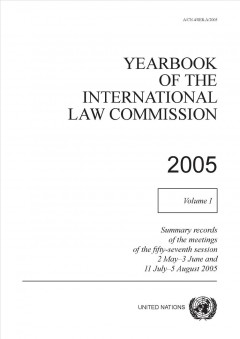 Yearbook of the International Law Commission, 2005