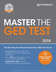 Peterson's Master the GED Test, 2018