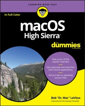 MacOS High Sierra for Dummies, [2018]