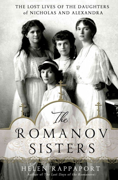 Cover image for The Romanov Sisters