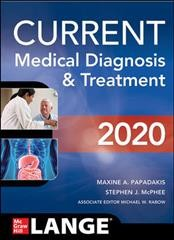 Current Medical Diagnosis & Treatment 2020