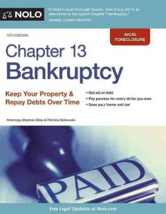 Chapter 13 Bankruptcy, [2016]