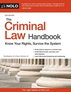The Criminal Law Handbook, [2018]