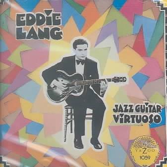 Eddie Lang, jazz guitar virtuoso