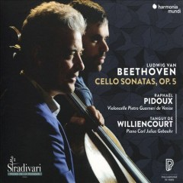Cello sonatas, op. 5