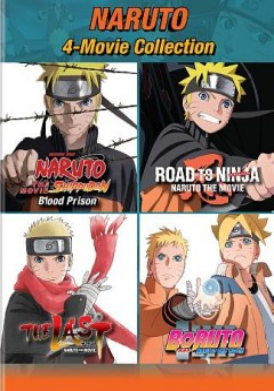 Naruto 4-movie collection