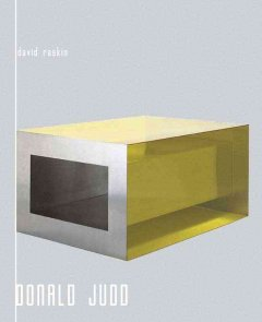 Donald Judd's Local Orders : Art, Principles, and Activism