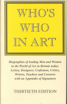 Who's Who in Art