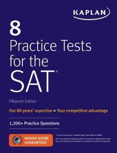 8 Practice Tests for the SAT