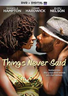 Things Never Said Book Cover