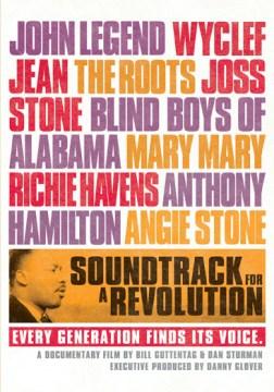 Soundtrack for A Revolution Book Cover