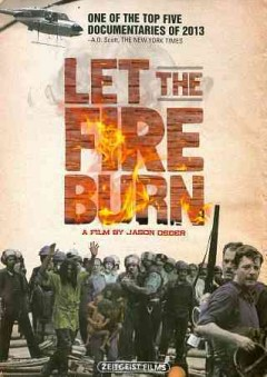 Let the Fire Burn Book Cover
