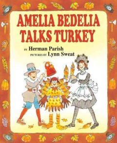 Amelia Bedelia Talks Turkey Book Cover