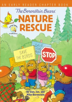 The Berenstain Bears' Nature Rescue Book Cover