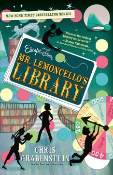 Escape From Mr. Lemoncello's Library Book Cover