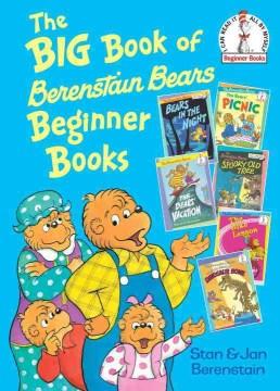 The Big Book of Berenstain Bears Beginner Books Book Cover