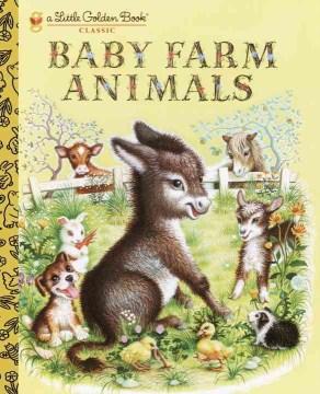 Baby Farm Animals Book Cover