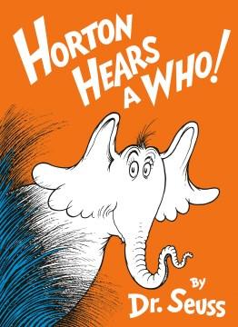 Horton Hears A Who! Book Cover