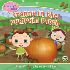 Franny in the Pumpkin Patch